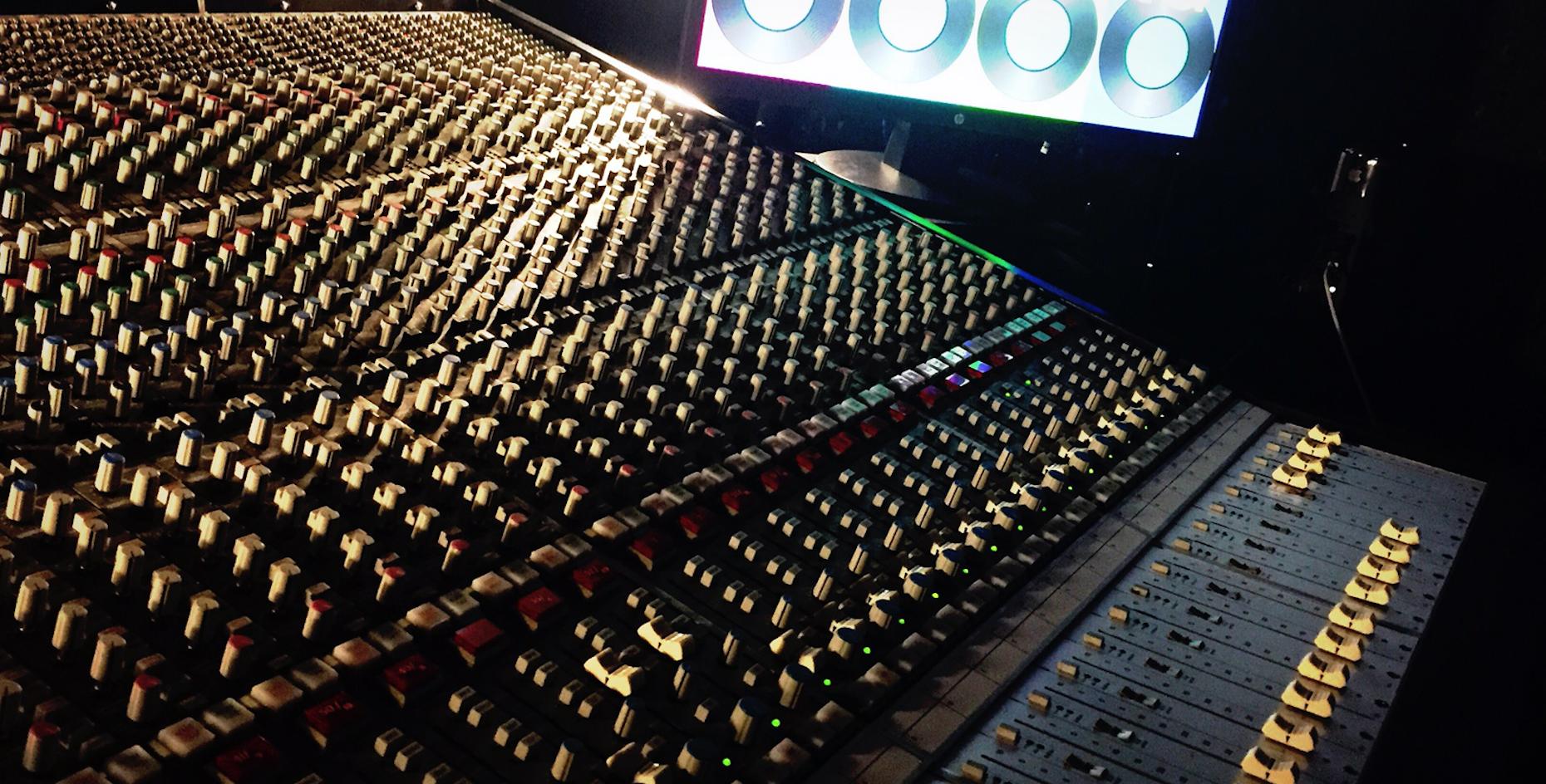 Studio di registrazione - Sonus Factory