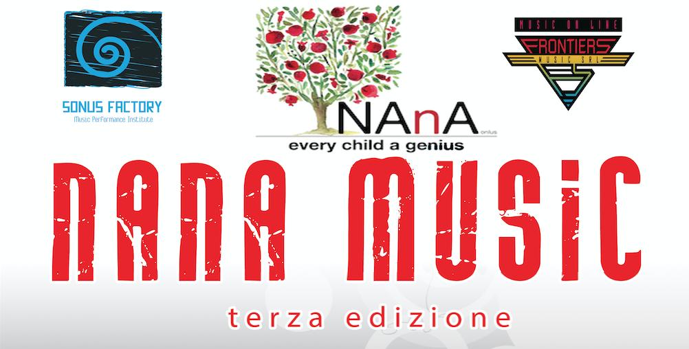 """Borse di Studio """"Nana Music 2018"""""""